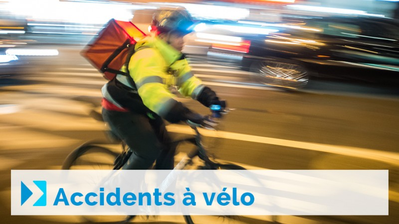 Accidents à vélo
