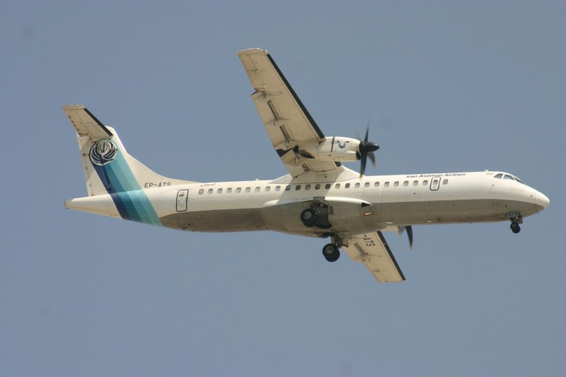 Accident Crash ATR72 Aseman Airlines