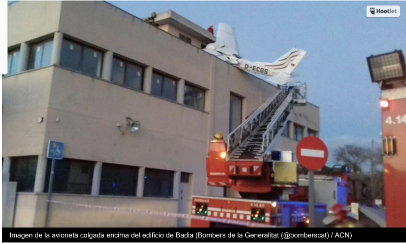 Accidente De Avioneta En Sabadell