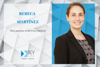 Rebeca Martínez new partner